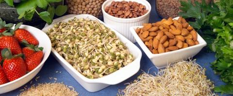 Beschreibung: Gesünder Essen: Richtige Ernährung gegen Stress